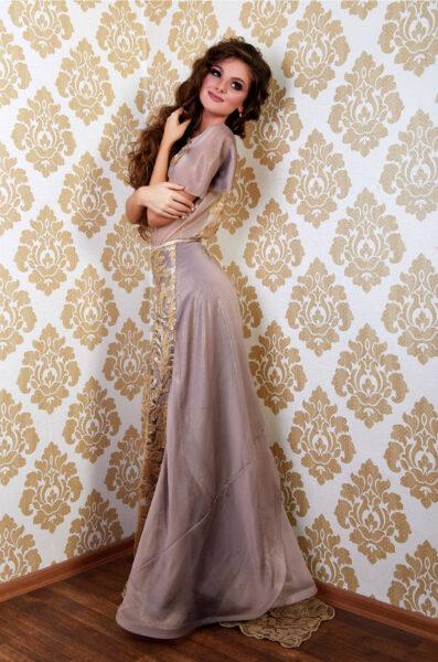 Zlaté - šaty - up -